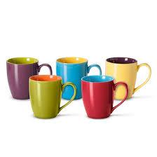 bia cordon bleu two toned mugs set of 6 15 oz target