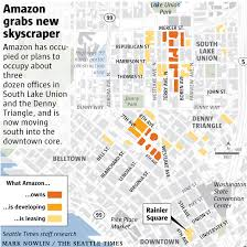 Click And Grow Amazon Amazon Still Growing In Seattle Taking Over What Will Be The