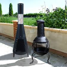 Chiminea Fire Pit Chiminea Barbecuing U0026 Outdoor Heating Ebay