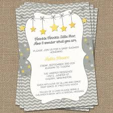twinkle twinkle baby shower invitations twinkle twinkle baby shower invite yellow and