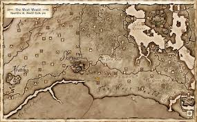 Elder Scrolls Map Image Warrior Stone Map Png Elder Scrolls Fandom Powered By