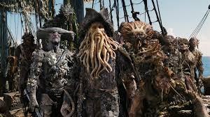 Davy Jones Halloween Costume Crew Flying Dutchman Potc Wiki Fandom Powered Wikia