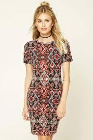 tribal dress contemporary tribal print dress forever 21 2000196495
