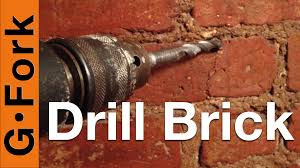 Hollow Wall Anchors Tv Mount Drill Into Brick Or Mortar When Hanging Something Gf Video