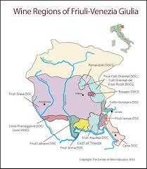 Lodi Ca Map Italy U2014friuli Venezia Giulia Swe Map 2018 U2013 Wine Wit And Wisdom