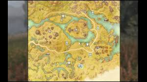 Elder Scrolls Map Elder Scrolls Online Treasure Map Vi Deshaan Youtube