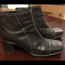 womens black ankle boots size 11 clarkes black ankle boots side zip womens 11 black ankle boots