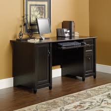 Office Desk Black by Edge Water Computer Desk 408558 Sauder