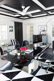 black and white home interior best 25 white office ideas on white office decor