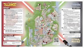 Disney Hollywood Studios Map Star Wars Weekends Disneyways