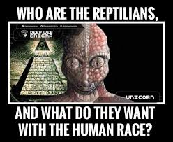 Reptilian Meme - who are the reptilians and what do they want with the human race