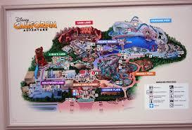 map of california adventure dlr 201 disneyland vs california adventure