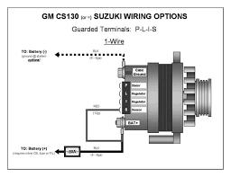 hitachi alternator wiring diagram wiring schematics and wiring