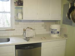 Kitchen Backsplash Photos White Cabinets Kitchen Subway Tile Backsplash Ideas With White Cabinets Cottage