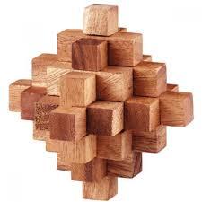 wooden puzzle meteor puzzle