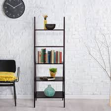 Leaning Ladder Bookcases by Best Leaning Ladder Style Bookshelf U0026 Bookcase Reviews