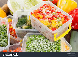 cook good frozen food recipes vegetables stock photo 524197633