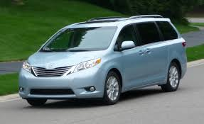 lexus minivan 2015 2015 toyota sienna u2013 review u2013 car and driver