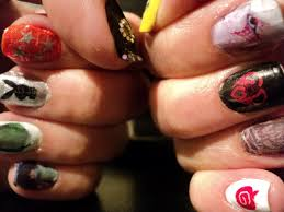 nail art for g dragon