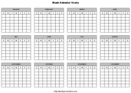 printable calendar year on one page 12 month blank calendar 12 month calendar template calendar picture