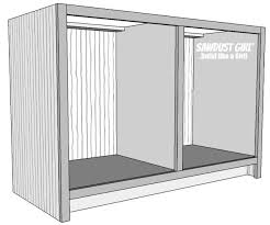 Build A Hutch Plans For China Cabinet Base Sawdust