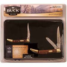 walmart kitchen knives buck knives cmbo53wm 2 combo knife set walmart com