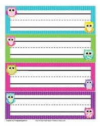 Desk Name Tags by Best 25 Owl Name Tags Ideas On Pinterest Owl Classroom Decor