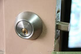 Extra Security Locks For French Doors - simple ways to burglarproof your doors wikihow