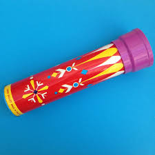 chad valley tin and plastic primary colours kaleidoscope mid