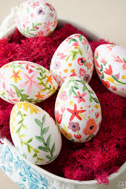 decorative easter eggs for sale beautiful painted easter eggs inspired by rifle paper co