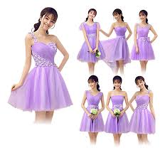 violet bridesmaid dresses 3 different style bridesmaid dresses violet best dresses