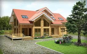 wooden house portfolio work evermotion