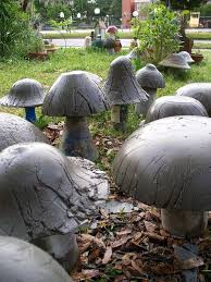 24 best how to make concrete mushrooms images on