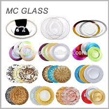 wedding plates cheap wholesale cheap wedding white background gold silver leaf glass