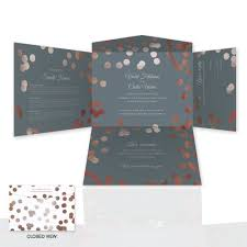 wedding invitations 1 all in one self mailer wedding invitations einvite page 1