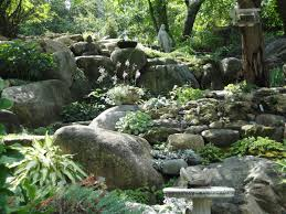 rock designs in gardens image of how to landscape with rocks