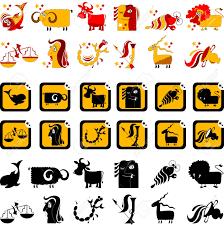 hilarious horoscope sign of the zodiac illustration vector