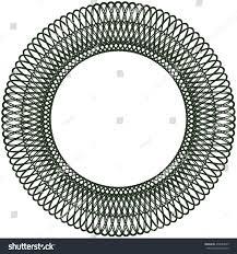halloween border transparent background circle line border frame delicate lace stock vector 432084823