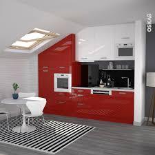Cuisine Rouge Et Grise by Cuisine Table Salle A Manger Blanc Et Grise Caen Fpress Sly