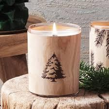 thymes frasier fir thymes frasier fir northwoods wooden wick candle