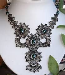 necklace patterns images Free bugle bead necklace pattern featured in bead jpg