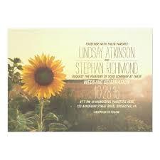 sunflower wedding invitations vintage sunflower wedding invitations zazzle
