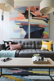 best 25 living room artwork ideas only on pinterest living room modern wall art justin s revamped nyc living room