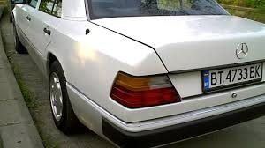 white mercedes w124 perfect condition and look youtube