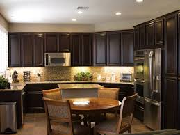 sand and stain kitchen cabinets recessed lighting around range