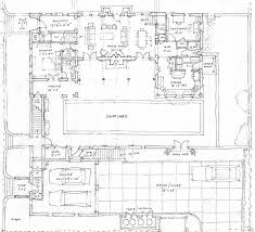 floor plans with courtyards house plan awesome spanish revival house plans with courtyar