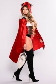 red haute storybook costume red