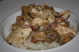 cuisiner des escalopes de poulet escalope de poulet à la cagnarde les délices de letiss