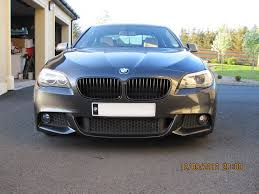 bmw black grill fitted gloss black grills