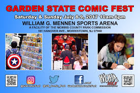 garden state comic fest comicon adventures read reviews